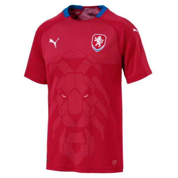プーマ(PUMA)サッカー 2018 チェコ代表 ホーム レプリカ ユニフォーム 半袖(752541-01)2018SS sc