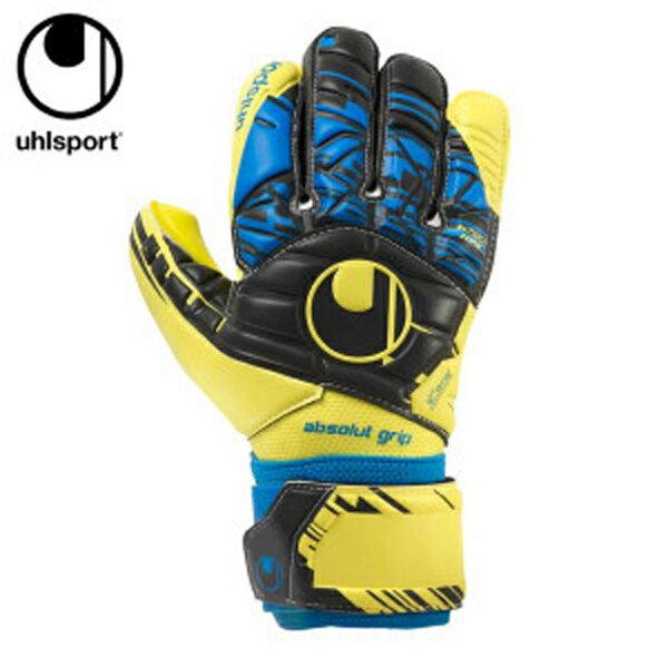 ウールシュポルト uhlsport サッカー キーパーグローブ メンズ レディース SPEED UP アブソルートグリップ ハーフネガティブ スピードアップ 1011012-01 sc