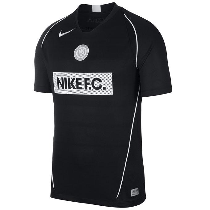 ナイキ サッカーウェア プラクティスシャツ 半袖 メンズ FC ホーム S/S ジャージ AT6018-010 NIKE