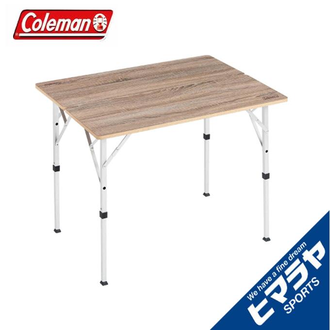 【期間限定 全品8%OFF】 コールマン アウトドアテーブル 大型テーブル フォールディングリビングテーブル 90 2000034611 Coleman sc
