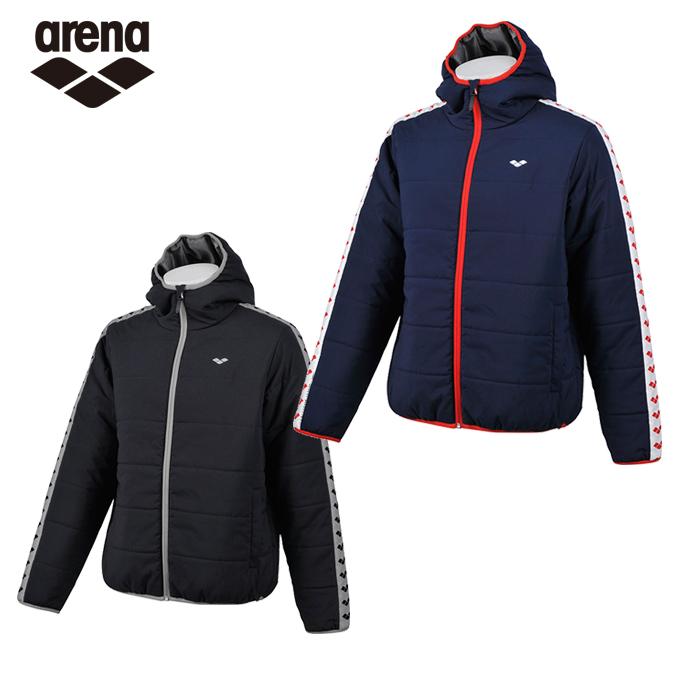 アリーナ スポーツウェア メンズ レディース ARENA 中綿ジャケット AMUMJF32 ARENA sw