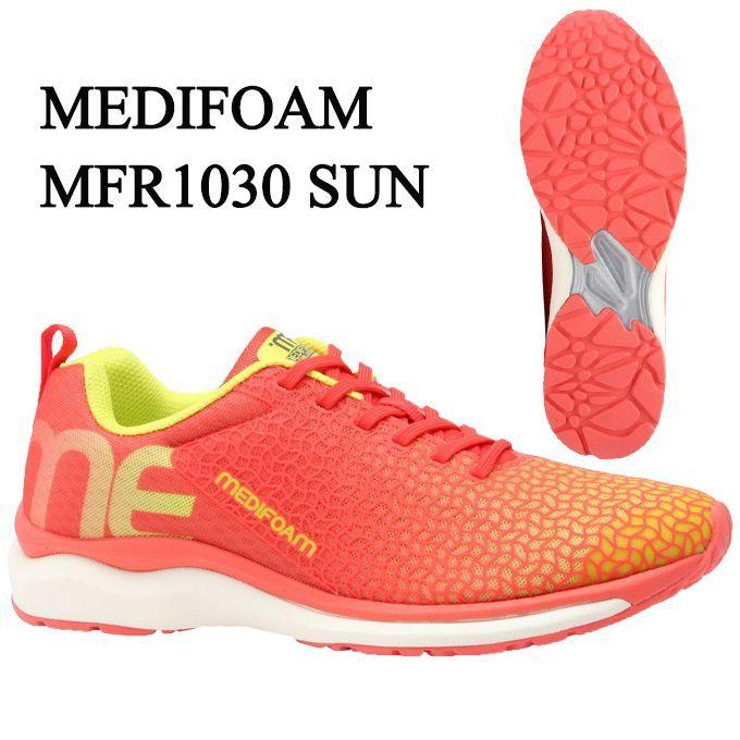 【期間限定クーポン発行中】メディフォーム MEDIFOAM ランニングシューズ メンズ MFR1030 MFR1030 SUN tf