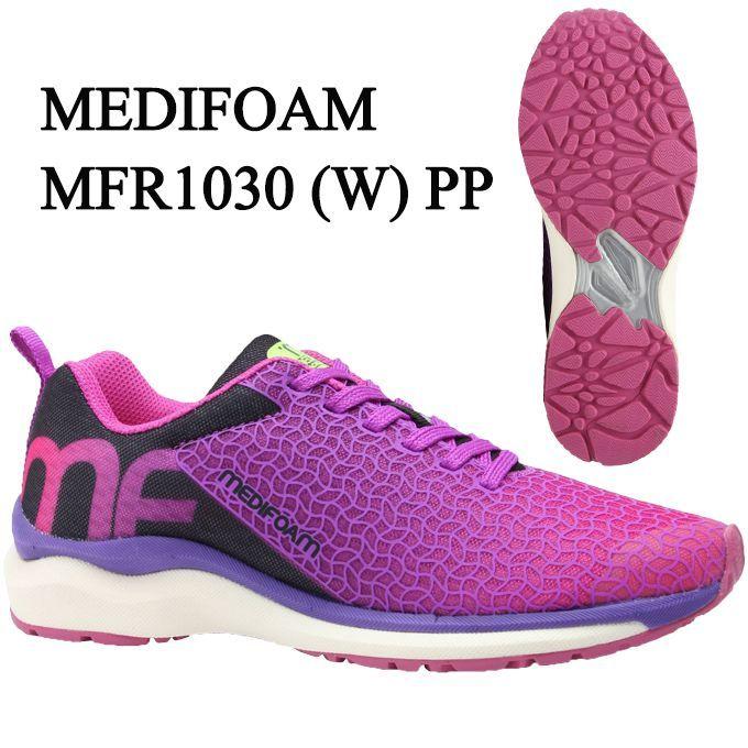 メディフォーム MEDIFOAM ランニングシューズ レディース MFR1030(W) MFR1030 PP tf