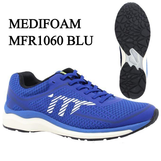 メディフォーム MEDIFOAM ランニングシューズ メンズ MFR1060 MFR1060 BLU tf