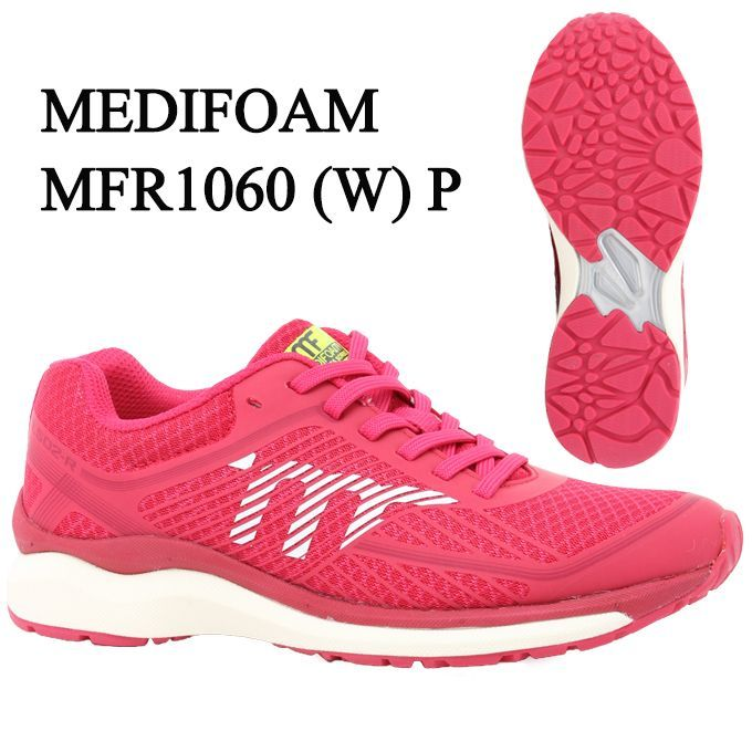 メディフォーム MEDIFOAM ランニングシューズ レディース MFR1060(W) MFR1060 P tf