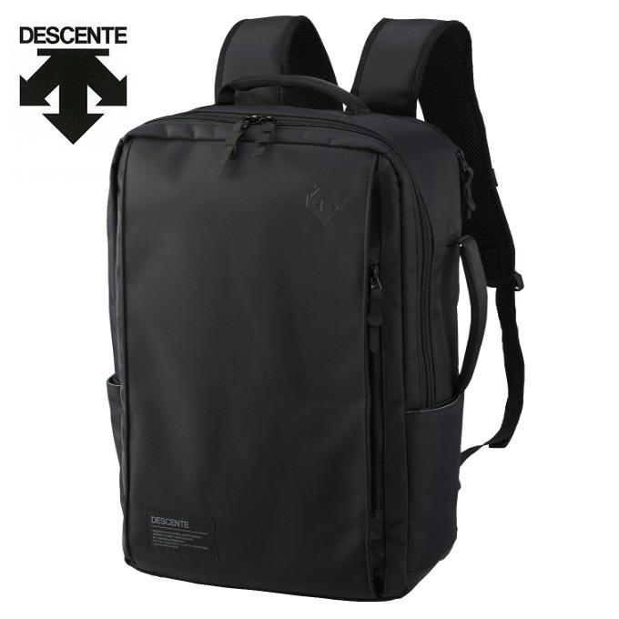 デサント DESCENTE バックパック メンズ レディース ファンクショナルバックパック リュック デイバック 25L DMANJA10 BK sw