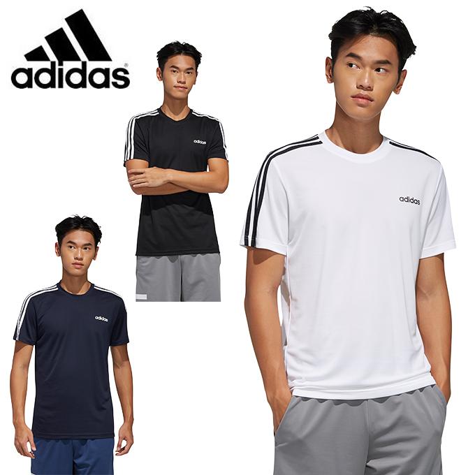 アディダス スポーツウェア 半袖 メンズ D2M 激安セール セール商品 AR sw GVD29 adidas Tシャツ 3ストライプス