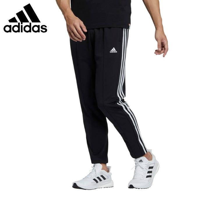 アディダス 卓抜 スポーツウェア ジャージ ロングパンツ メンズ MH 3ST GK8649 パンツ JLP58 sw テイパード adidas 人気の定番