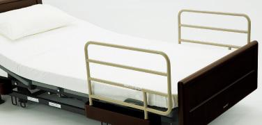 パナソニック VA1316032ベッドサイドレールS 2本1組(電動ケアベッド用)[介護用品][電動ベッド][オプション]