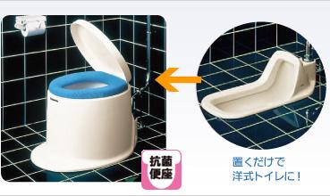 パナソニック洋風便座 据置型N《トイレ用品》