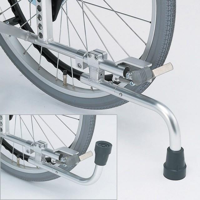 日進医療器[専用]回転式転倒防止装置付き足踏みブレーキ