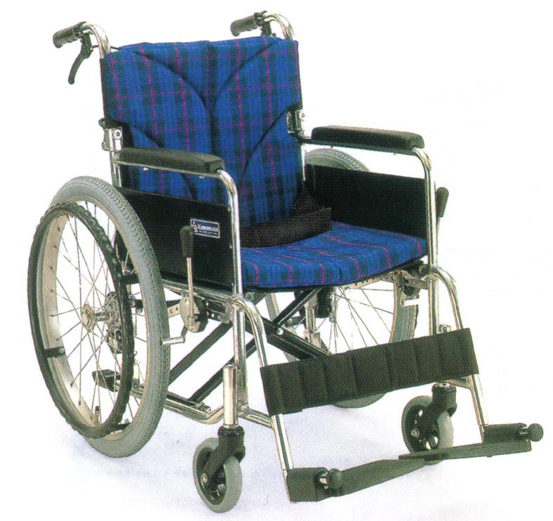 車いす 車イス 車椅子 軽量 折り畳み カワムラサイクル社製BM20-40(38・42)SB-SL送料無料!アルミ製自走用車椅子【DW0117大激安!】