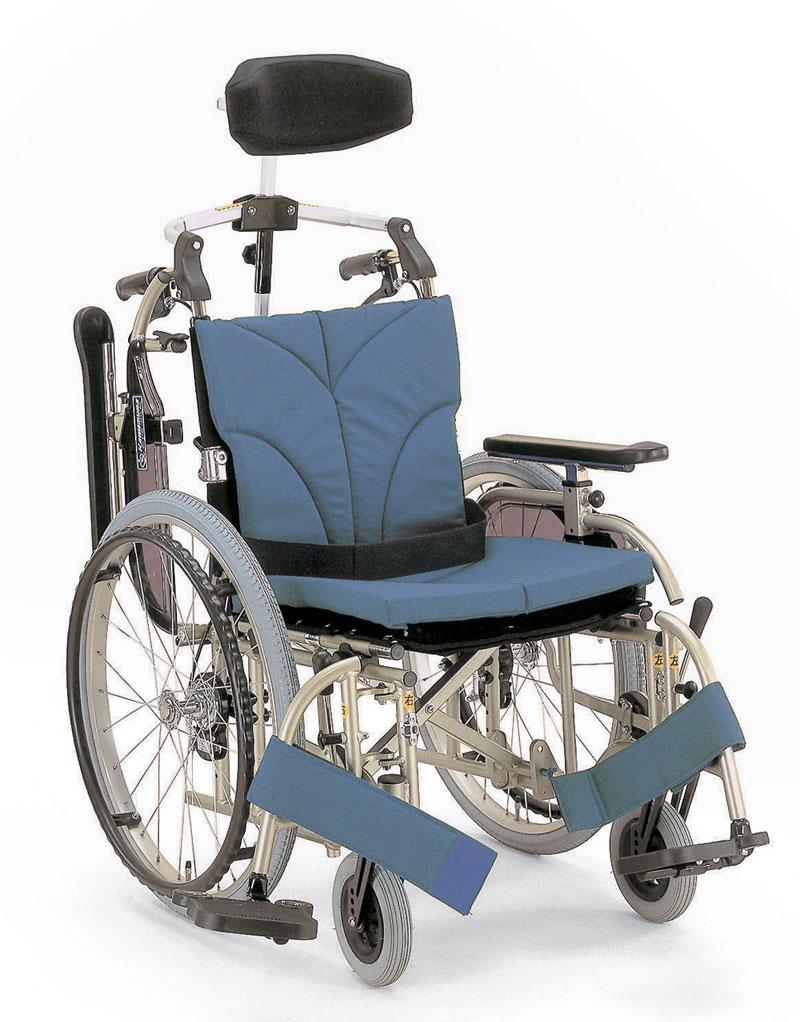 カワムラサイクル社製KA922A-40(38・42)/7-Mアルミ製自走用車椅子座幅調節が3段階可能