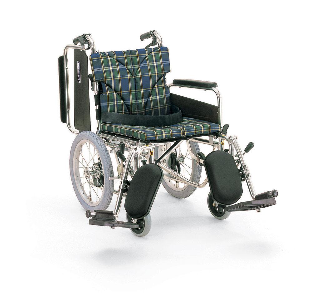 カワムラサイクル KA816-40(38·42)ELB-LO  アルミ製介助用車椅子
