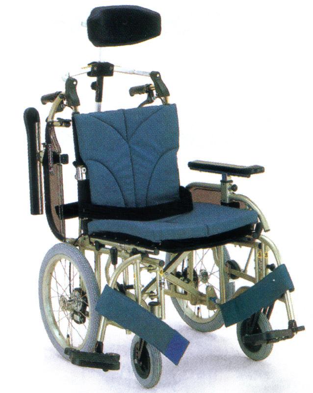 カワムラサイクル介助用車椅子KA916A-40(38・42)/7-Mアルミ製介助用車椅子
