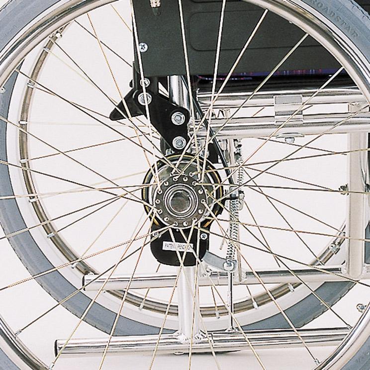 バンド式介助ブレーキ(カワムラサイクル社製車椅子用)