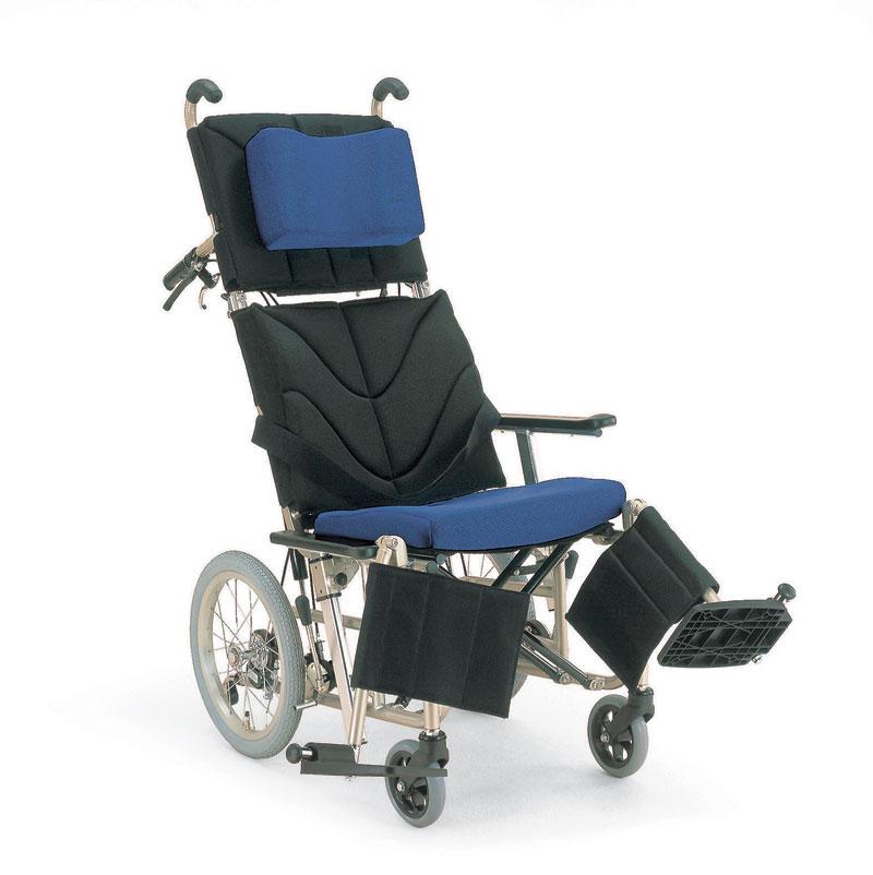 カワムラサイクルKPF16-40(42)リクライニング・アンカークッション車椅子