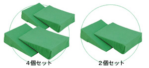 アイ・ソネックス製ナーセントミニ 4個セット(体位変換クッション)【床ずれ予防用品】