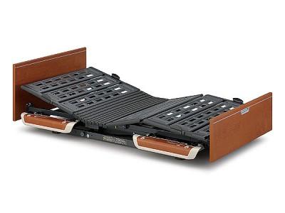 (介護ベッド)【パラマウントベッド】楽匠Sシリーズらくらくモーション付き電動ベッド(品番:KQ-9652)木製ボード レギュラーサイズ(マットレス幅:100cm)[介護ベッド][介護ベット][介護用品]