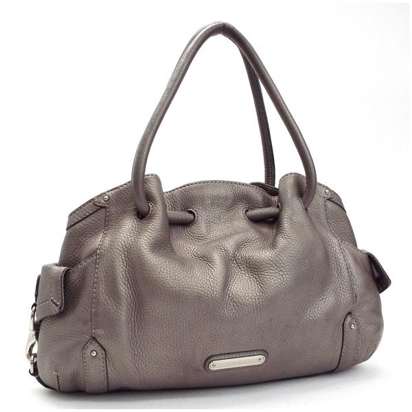 コールハーン トートバッグ ショルダーバッグ 肩掛け シルバー 中古 Bランク COLE HAAN | レディース 女性用 保存袋付き【送料無料】