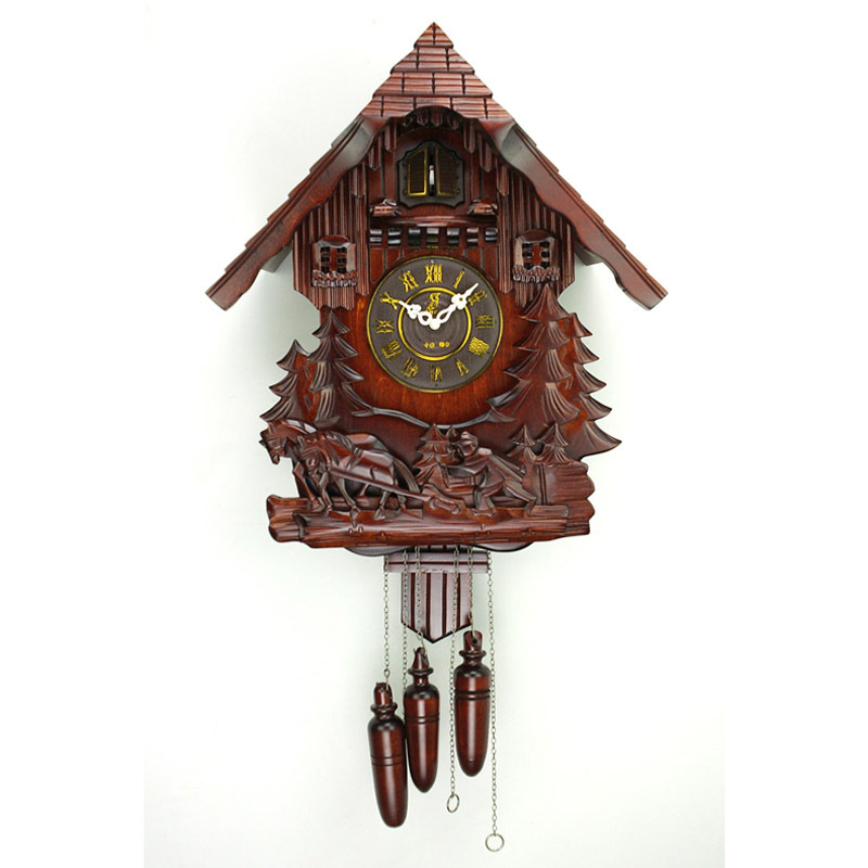 鳩時計 カッコー はと時計 振り子時計 掛け時計 限定タイムセール クロック 送料無料 リズム時計 カッコークロック ふるさと割 ハト時計 カッコー時計