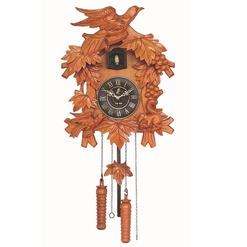 値引き 鳩時計 カッコークロック カッコー はと時計 掛け時計 送料無料 リズム時計 クロック 振り子時計 カッコー時計 超美品再入荷品質至上 ハト時計