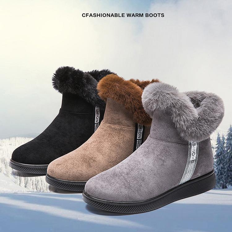 大人気のスノーブーツ ブーツ レディース ショートブーツ ボア レディース靴 スノーシューズ 買い取り 防寒 雪靴 中綿 防寒ブーツ おしゃれ 超激得SALE 裏起毛 長靴 ウインターブーツ スノーブーツ
