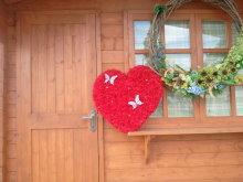 超大型 フラワーハート 60cm 以上 会場装飾に最適♪オリジナル ブーケ結婚式場でもお使いいただいています。【トスブーケ】【造花】【ブーケ】【シルクフラワー】