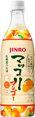 本場韓国仕込みの伝統マッコリ 【JINRO】マッコリ マンゴー 750ml×12本
