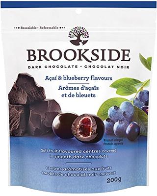 華やかに香る 美のエナジー ブルックサイド 再再販 ダークチョコレート ブルーベリー クール便配送時期の為 後程チルド代を追加します 半額 アサイー