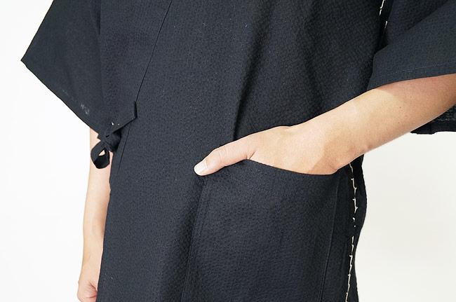 甚平 メンズ 大きいサイズ 当店限定生産 日本製しじら織り甚平ロングパンツ M/L/LL/3L/4L/5L  あす楽対応 +オプション可 甚平 メンズ 父の日 ギフト 男性 敬老の日 還暦
