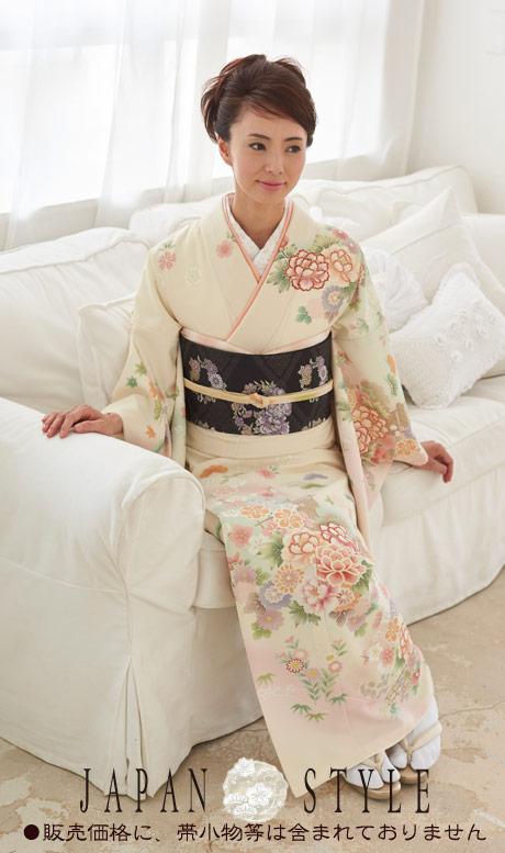 着物 訪問着 日本製 ジャパンスタイル 仕立て上がり 洗える着物 JL-31 「着物 訪問着 結婚式 きもの 女性 レディース」