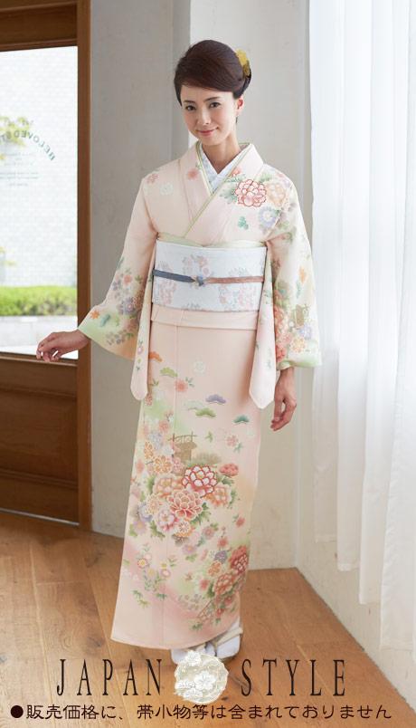 着物 訪問着 日本製 ジャパンスタイル 仕立て上がり 洗える着物 JL-32 「着物 訪問着 結婚式 きもの 女性 レディース」
