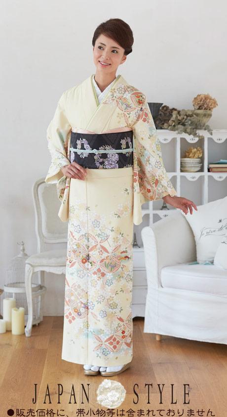 着物 訪問着 日本製 ジャパンスタイル 仕立て上がり 洗える着物 JL-34 「着物 訪問着 結婚式 きもの 女性 レディース」