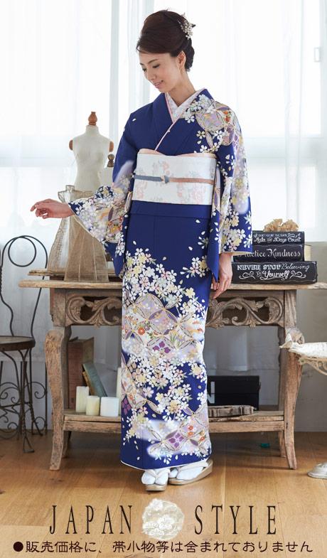 【マラソン ポイント5倍 9日1:59マデ】着物 訪問着 日本製 ジャパンスタイル 仕立て上がり 洗える着物 JL-36 「着物 訪問着 結婚式 きもの 女性 レディース」