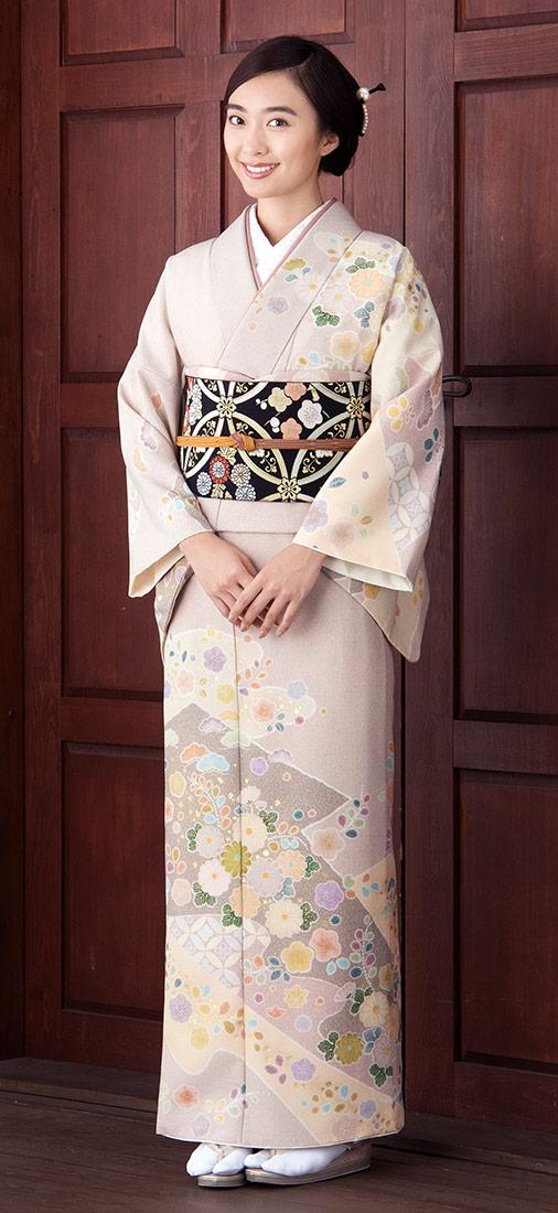 着物 訪問着 ジャパンスタイル 仕立て上がり 洗える着物 JL-66 「着物 訪問着 結婚式 きもの 女性 レディース」
