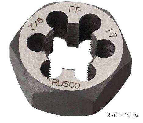 TRUSCO/トラスコ中山(株) 六角サラエナットダイス PF1-11 TD6-1PF11