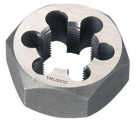 TRUSCO/トラスコ中山(株) 六角サラエナットダイス 並目 M36X4.0 TD6-36X4.0