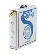 緑十字/日本緑十字社 ラインテープ(ガードテープ) 白 50mm幅×100m 屋内用 GT-501W オレフィン樹脂 148051