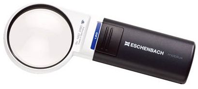 エッシェンバッハ LEDワイドライトルーペ 1511-2