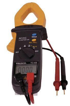 TRUSCO/トラスコ中山(株) ACDCクランプメータ(交流・直流電流測定用) TC-03