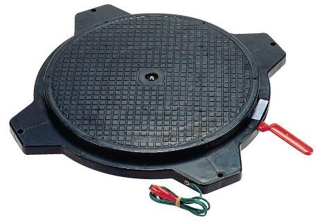 【代引き不可】【時間指定・日祝着不可】SAKAE/サカエ クルクル回転盤・樹脂製 導電性タイプ 均等耐荷重150kg PS-36DD