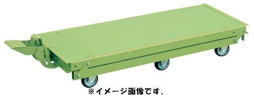 【代引き不可】【時間指定・日祝着不可】SAKAE/サカエ 作業台オプションペダル昇降台車(6輪車) KTW-157Q6DPS