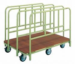 【代引き不可】【時間指定・日祝着不可】SAKAE/サカエ ボード台車ガイド仕様 均等積載荷重:500kg 組立式 RT-1280L