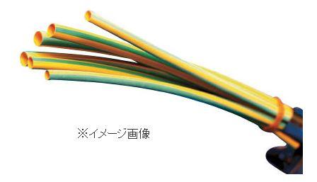 パンドウイット 熱収縮チューブ 標準タイプ イエローグリーン 1箱(袋)=25本 HSTT19-48-Q45