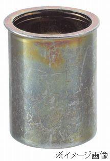 TRUSCO/トラスコ中山(株) クリンプナット薄頭スチール 板厚2.5 M10X1.5 500入TBNF-10M25S-C
