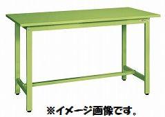 【代引き不可】【時間指定・日祝着不可】SAKAE/サカエ 軽量立ち作業台KSDタイプ スチール天板 W1800xD600xH900mm 組立式 KSD-186S
