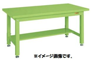 【代引き不可】【時間指定・日祝着不可】SAKAE/サカエ 重量作業台KWタイプ中板1枚付 W1500xD800xH740mm 組立式 KWS-158T