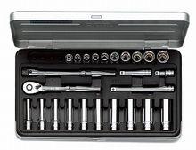 KTC/京都機械工具(株)6.3sq.ソケットレンチセット[25点]TB2X20