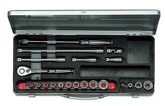 KTC/京都機械工具(株)9.5sq.ソケットレンチセット[21点]TB314